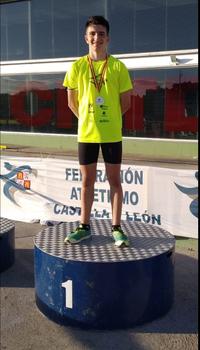 Rodrigo Santa Elena, campeón autonómico sub-20 de 5km marcha
