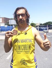 Oro, plata y bronce para Francisco San Martín en el Nacional