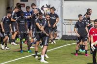 Primer entrenamiento del Albacete