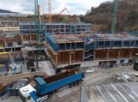 Las obras de construcción se disparan un 43% desde enero