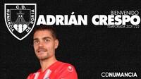 Adrián Crespo refuerza la defensa del Numancia