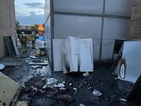 Fuego en el Centro Tecnológico de la Madera