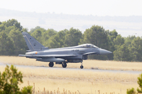 Los Eurofighter se preparan para usar un nuevo misil