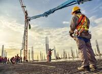 La obra de construcción sube un 145% semestral en la región