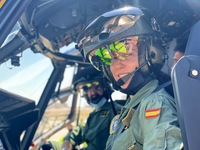 El Ejército del Aire prepara a dos mujeres para pilotar NH90