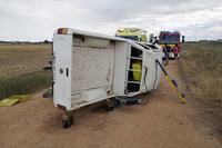 Un muerto y 3 heridos en una colisión frontal en la VA-140