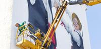 La obra de arte que roza el cielo de Frechilla