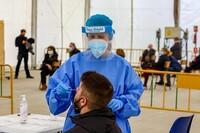 Navarra registra la cifra más baja de contagios en dos meses