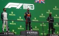 Verstappen gana la carrera más corta ...