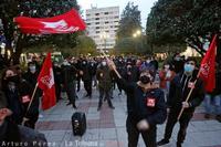 La capital se suma a las concentraciones que piden la libertad de Pablo Hasél