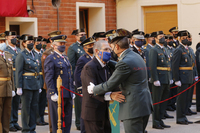 Acto en la Comandancia de la Guardia Civil por el día de su patrona