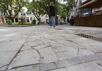 Destinan 40.000 euros a arreglar la plaza de Cervantes