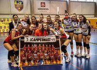El CV Albacete se proclamó campeón regional juvenil femenino