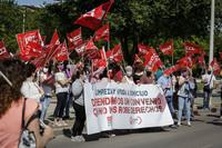 Los trabajadores de la limpieza reanudan las movilizaciones