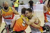 Amiab-Ilunion.  Semifinal de la Copa del Rey de Baloncesto en silla de ruedas