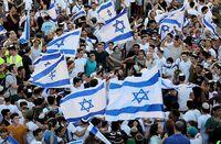 Decenas de palestinos heridos en la Marcha de las Banderas