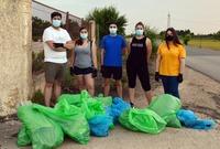 Juventudes Socialistas Tarancón recoge 100 kilos de basura
