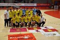 El Balonmano Delicias, subcampeón de España cadete