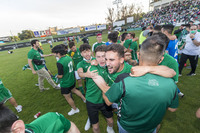 Alegría desatada tras el ascenso del CD Toledo