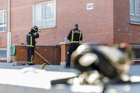 Incendio de un piso en La Albuera