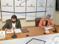 La Diputación y la Federación de Mayores renuevan convenio