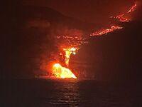 La lava del volcán de La Palma llega ...