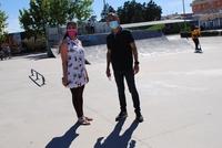 El Skate Park de Valdepeñas tendrá nuevos obstáculos
