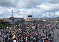 Colombia vive una nueva jornada de protestas antigubernamentales