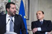 Berlusconi y Salvini valoran ir juntos a las elecciones de 2023
