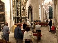 Dolz asiste a la misa en honor a la Virgen de las Nieves