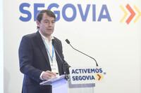 Mañueco se reúne con partidos y entidades por la Conferencia