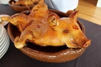 Cochinillo a mitad de precio en 22 restaurantes de Segovia
