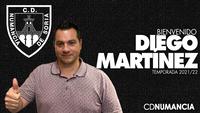 Diego Martínez será el nuevo entrenador del Numancia
