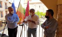 El presidente de Diputación visita Milmarcos