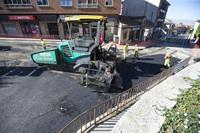 La operación asfalto llega al Paseo de San Roque