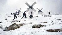 Las fotos de la nevada de nuestros lectores