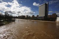 Crecida del río Pisuerga