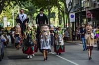 Desfile de Gigantes y Cabezudos en Ciudad Real