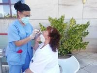 Test de antígenos en residencias al volver de vacaciones