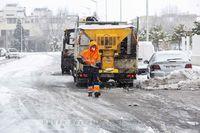 Segundo día de nevada por la borrasca Filomena