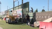 Empiezan a instalar un nuevo videomarcador en La Albuera