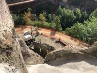 Las obras del muro de la calle Canónigos arrancan en 10 días