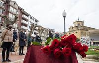 Haro homenajea a las víctimas Covid