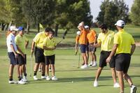 Los seis golfistas de Madrid arrancan el torneo bajo el par