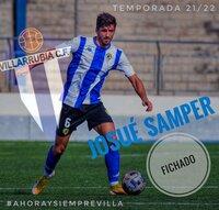 Josué Samper recala en el Villarrubia