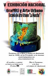 Quintanar exhibirá graffiti en sus muros en octubre
