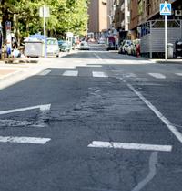 Operación asfalto para 13 calles y barrios anexionados