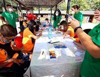 Un campamento inclusivo para 'un verano atípico'
