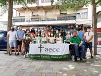 La ciudadanía se volcó en la cuestación de la AECC