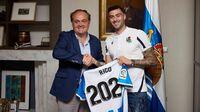 Diego Rico promete humildad y trabajo en la Real Sociedad